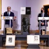 Los presidentes de la DGA y la DPZ han presentado las actividades