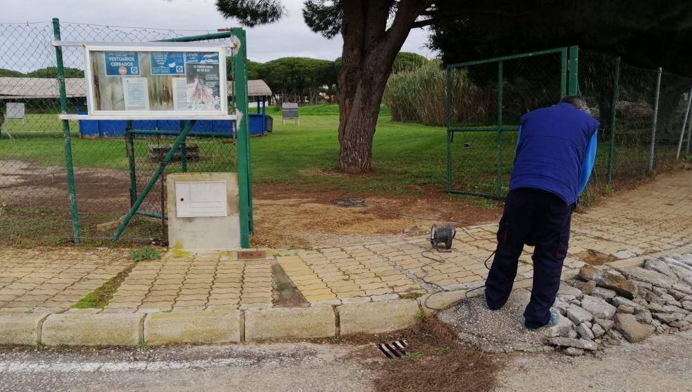 El Ayuntamiento inicia las mejoras en el campo de tiro con arco