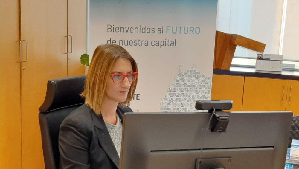 Mari Carmen de España, Concejala responsable de impulsalicante.es