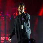 The Weeknd, durante una de sus últimas actuaciones.