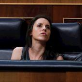 Imagen de archivo de la ministra de Igualdad, Irene Montero, en el Congreso de los Diputados
