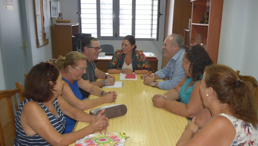 Reunión antes de la pandemia, en una foto de archivo