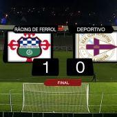 Racing 1-Deportivo 0 TVG2