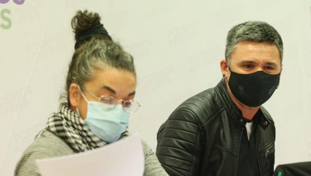 Cristina Tuero y Rafael Palacios