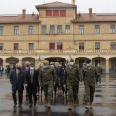 El Cuartel General de la División Castillejos inicia oficialmente su andadura en Huesca