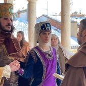 Boda de Pedro Azagra con Isabel de Segura