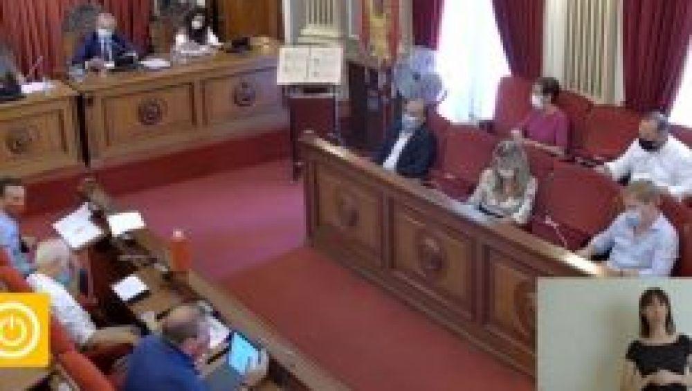 El Pleno del Ayuntamiento de Badajoz aprueba por unanimidad el reglamento del Consejo de Comercio de la Ciudad