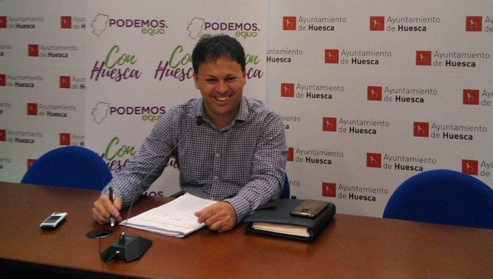 Con Huesca pide que la capital oscense se adhiera a la Red de Ciudades que Caminan