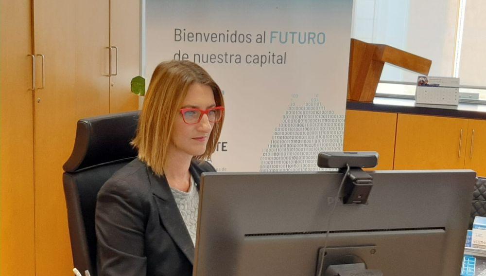 Mari Carmen de España, responsable de la Agencia Local de Desarrollo