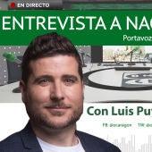 Entrevista a Nacho Escartín, portavoz de Podemos en las Cortes de Aragón