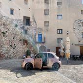 'De Ruta por Peñíscola y la Serra d'Irta' con el Fiat 500e Icon.
