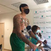 Malcom Thomas ha pasado reconocimiento médico en Málaga