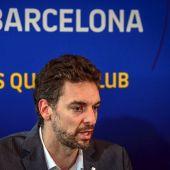 Pau Gasol hace oficial su llegada al FC Barcelona
