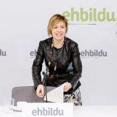 La portavoz de EH Bildu en el Ayuntamiento de Vitoria, Miren Larrion.