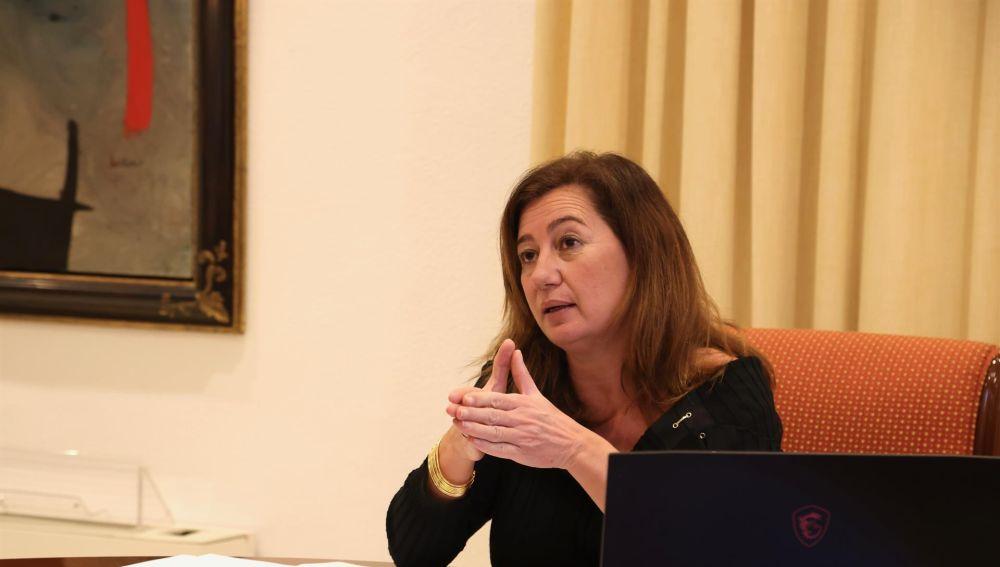 """Armengol reconoce que las ayudas no son suficientes y Cs le pide """"que se plante ante Pedro Sánchez"""""""