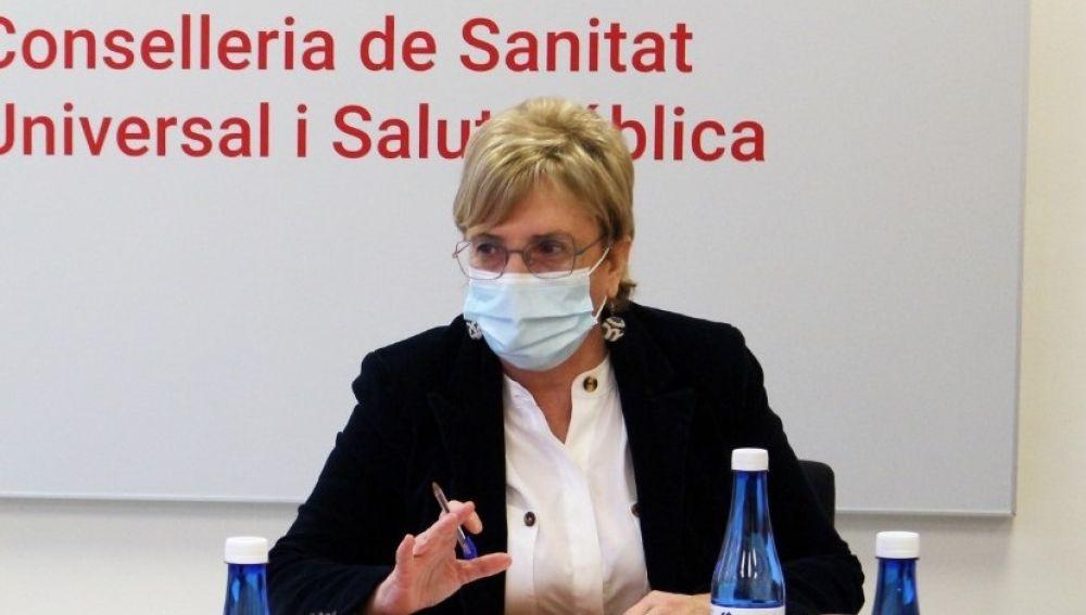 La consellera de Sanidad, Ana Barceló