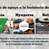 Gadasa, Hyupersa y Balpersa con la hostelería