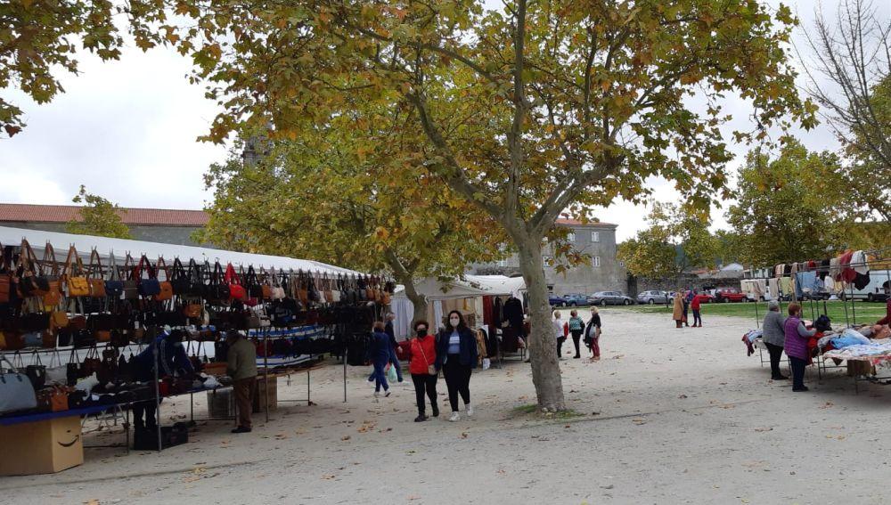 A Feira de Allariz, que se celebra todos os sábados recuperará, este 27 de febreiro, gran parte dos postos