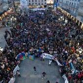 Manifestación el año pasado en Ciudad Real con motivo del 8M