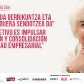 Maria Luisa Arriola mejor directiva del 2021