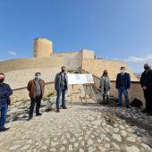 Presentación del Plan a los pies del castillo