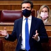 El líder popular, Pablo Casado
