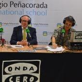 Onda Cero León desde el Colegio Peñacorada con su director Luis José Cillero