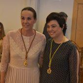 Eva María Masías y Pilar Zamora