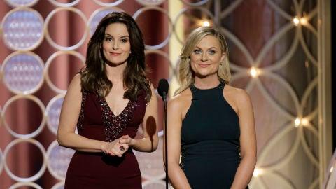 Tina Fey y Amy Poehler, las presentadoras de varias ediciones de los Globos de Oro