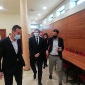 El presidente Puig en su visita a Elche