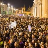 Imagen de la manifestación del 8 de marzo de 2020