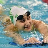 La nadadora María Delgado Nadal