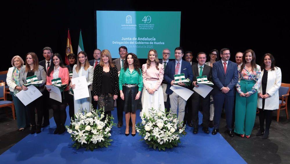 Entrega de las Banderas de Andalucía 2020