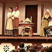 Una representación de la compañía Corrales de Comedias