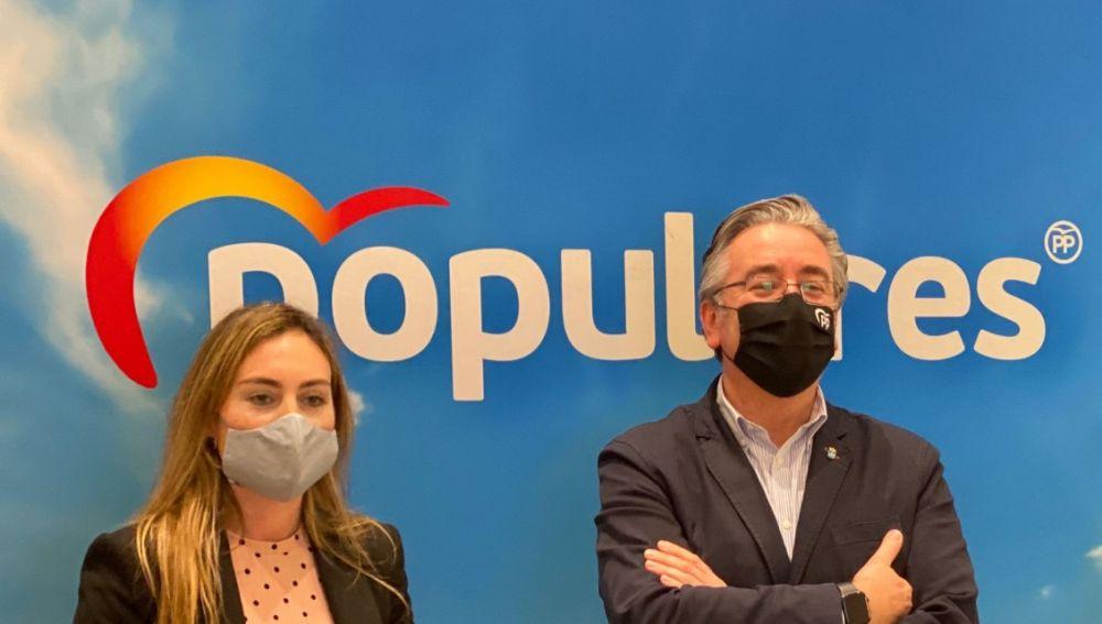 Pablo González, nuevo presidente del Partido Popular