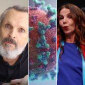 Miguel Bosé y Victoria Abril son algunas 'personalidades' que se han manifestado escépticas al coronavirus