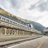 Este jueves se inaugura la nueva estación de Canfranc