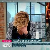 La emoción de Cristina Pardo al entrevistar a su padre