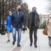 Líderes del PP de paseo por Gijón