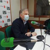 Francisco Cañizares en los estudios de Onda Cero Ciudad Real