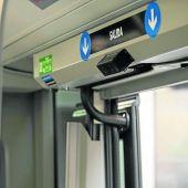 Las nuevas cámaras para controlar aforos detectan siluetas humanas en las puertas de salida