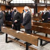 Javier Lambán y Javier Sada han asistido al funeral