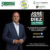 José Carlos Díez, economista