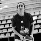 La jugadora de Perfumerías Avenida, Silvia Domínguez.