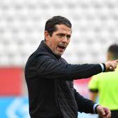 José Luis Rodríguez Loreto, en su estreno como entrenador del Real Murcia