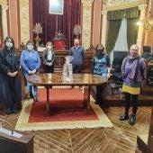 As profesionais dos servizos de axuda no fogar, premio Clara Campoamor