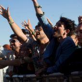 Asistentes a un concierto del Primavera Sound Barcelona