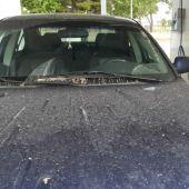 Los lavaderos de coches se han beneficiado de la lluvia de barro