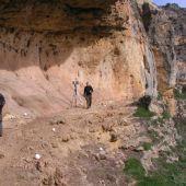 documentando arte rupestre en el Solapo del Águila (Hoces del Duratón)