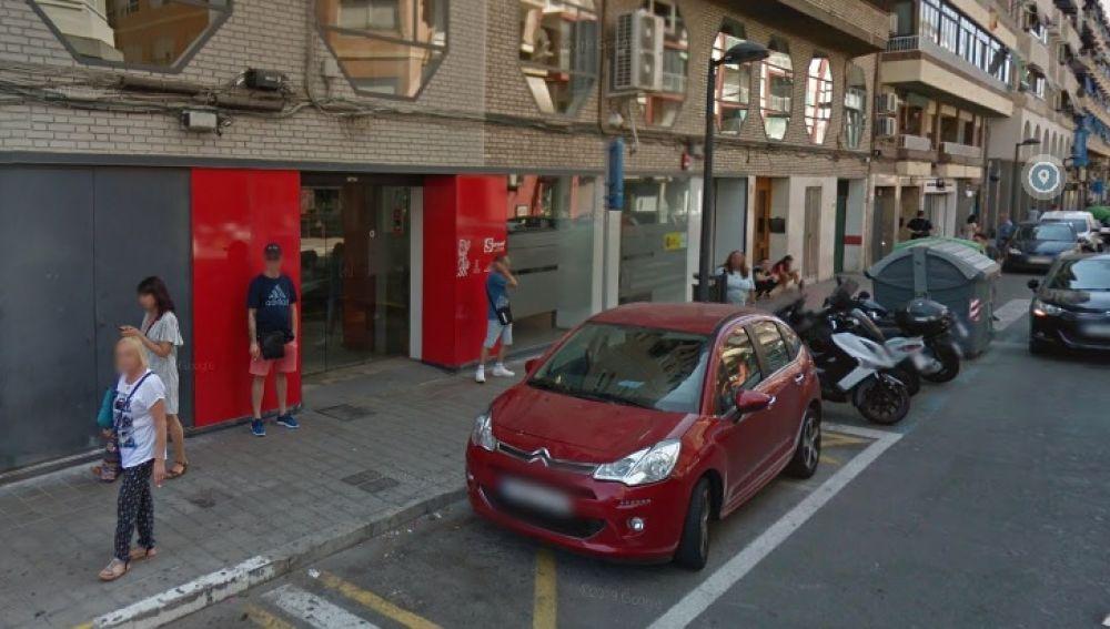 Sede del Servef de la calle Isabel la Católica en Alicante